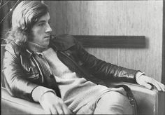 Stanley Bowles in contemplative mood.  #QPR #StanTheMan