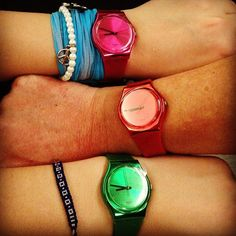 swatch watches :)