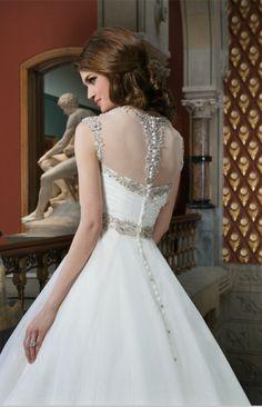 ball gown wedding dresses  chiffon Wedding Dresses 2014 c8c0ae56ab17