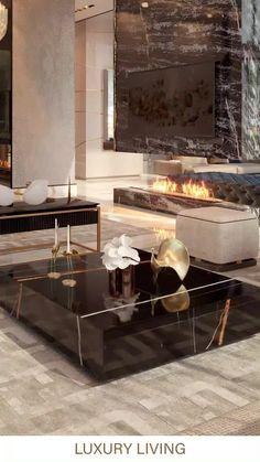 Luxury Rooms, Luxury Homes Interior, Luxury Home Decor, Contemporary Interior Design, Luxury Interior Design, Interior Decorating, Living Room Interior, Living Rooms, Living Room Decor