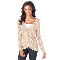 Flattering Wrap Sweater