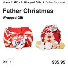 Father Christmas $35.95 http://www.lushusa.com/Christmas/christmas,en_US,sc.html