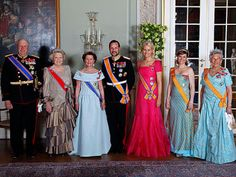 State visit from the Netherlands: Gala Dinner June 2010