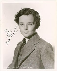"""The photo """"Freddie Bartholomew"""" has been viewed 453 times. Freddie Bartholomew, John Holmes, Old Hollywood, Classic Hollywood, Child Actors, Classic Films, Little Star, Literature, Believe"""
