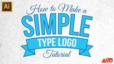 Adobe Illustrator Tutorial: How-to Make a Simple Type Logo