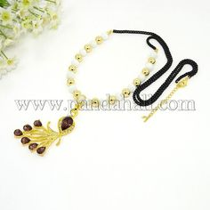 Long Black Iron Chain Alloy Czech Rhinestone and Imitation Austrian Crystal Big Peacock Pendant Sweater Necklaces with Cat Eye and Golden CCB Acrylic Round Beads Coffee 28.35