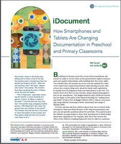 Digital Documentation: Making Teaching and Learning Visible | Technology Rich Inquiry Based Research
