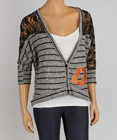 Take a look at this Oklahoma State Cowboys Dolman Cardigan - Women by Gameday Couture on #zulily today! $30 !!