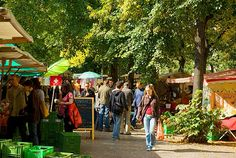 Bohagener platz flea market in berlin