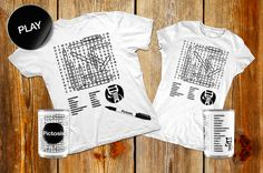 Say it in a Tee: choose the words you like more and get a cool customized Lettersoup PICTOSIS T-shirt on Starteed. Make an original gift for Xmas supporting it! http://www.starteed.com/projects/273/pictosis-pictographic-design-storehttp://www.starteed.com/projects/273/pictosis-pictographic-design-store