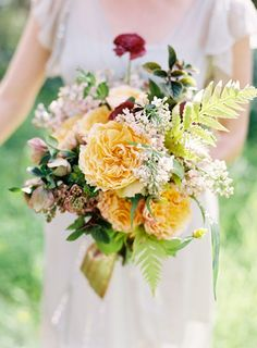 1000 images about bridal bouquets on pinterest flower for A lot of different flowers make a bouquet