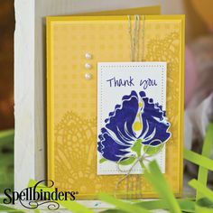 Thank You, My Friend by Richard Garay for Spellbinders