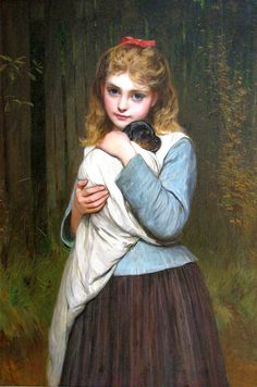A foster mother by Charles Sillem Lidderdale
