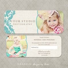 Luxe & Rep Card Referral Templates for Millers- Nichole Collection. $8.00, via Etsy.