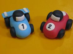 Fondant Race Cars                                                                                                                                                                                 More