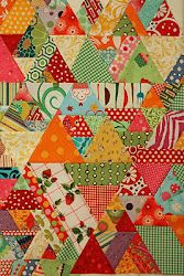 Great instructions for this scrappy quilt