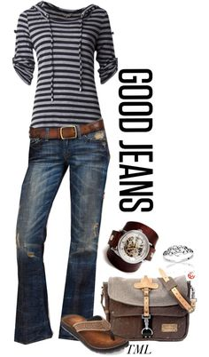 """My Must Have Jeans"" by tmlstyle on Polyvore"