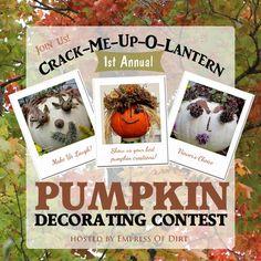 Pumpkin Decorating Contest | empressofdirt.net