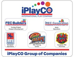 iPlayCo Group of Companies. FEC Builders. IREC Corporation Play Mart International The Great Escape Play Planet