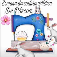 Olá gente Bonita! Já se inscreveu para a semana da Costura Artística de Páscoa que começa no dia 12/2?este é o link http://pascoa.duna.vc vou estar te esperando! Beijinhos Tania #patchwork #decoracao #country