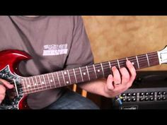 ▶ Blues Guitar Lesson in the Style of Green Onions by Booker T and the M.G.'s gibson sg - YouTube