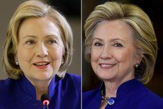 Hillary Clinton's secretface-lift
