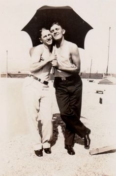 Vintage photographs of gay and lesbian couples and their stories.