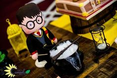 Cute decorations at a Harry Potter birthday party! See more party ideas at CatchMyParty.com!