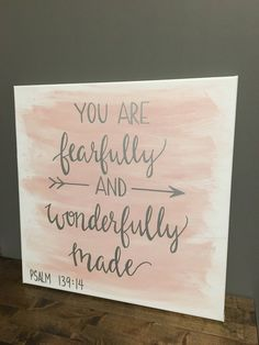 New Large Canvas Art Diy Simple Ideas Bible Verse Painting, Bible Verse Canvas, Canvas Painting Quotes, Simple Canvas Paintings, Easy Canvas Painting, Cute Paintings, Large Canvas Art, Diy Painting, Christian Canvas Paintings