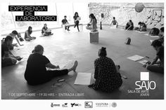 Te invitamos a la inauguración de la exposición: Experiencia de Laboratorio. Jueves 1 de septiembre de 2016 en la Sala de Arte Joven del ISIC, a las 19:30 horas. Entrada libre. #Culiacán, #Sinaloa.