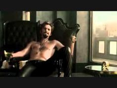 Three scenes of David Tennant in Fright Night.  David Tennant... shirtless and in tight leather trousers.#you'rewelcome.