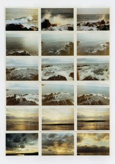 Gerhard Richter. From Atlas. Seascapes, 1972. Here. And more.
