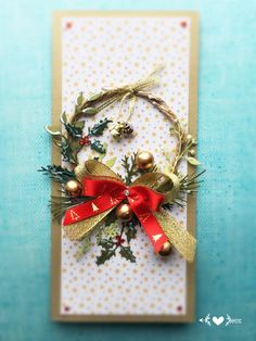 Kartka świąteczna Boże narodzenie christmas card https://m.facebook.com/KastelOfArt/