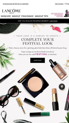 09cf5ab4ecd7 We ve Got You Covered from Festival to Spring Looks - Lancome Email Archive