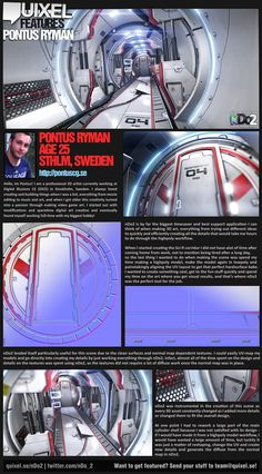 Breakdown of SciFi Cylinder tunnel. - Page 2 - Polycount Forum