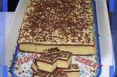 Ilona szelet | Receptkirály.hu Tiramisu, Deserts, Ethnic Recipes, Drink, Places, Fimo, Beverage, Postres, Tiramisu Cake