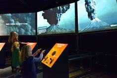 You'll be blown away by this new exhibit devoted to the science of natural disasters!