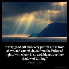 James 1:17 KJV