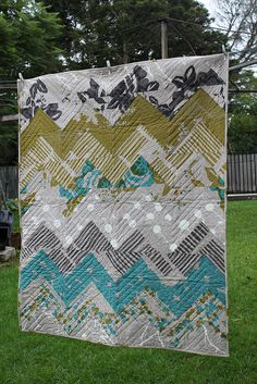 chevron pattern for quilt.