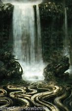H. I looked at giger before I came to college and was influenced for my first unit that was sci fi and print unit. Chur, Fantasy Landscape, Fantasy Art, Dark Fantasy, Hr Giger Art, Art Conceptual, Giger Alien, Science Fiction, Arte Cyberpunk