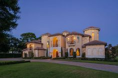 Secluded Mediterranean-Style Estate - Houston Business Journal