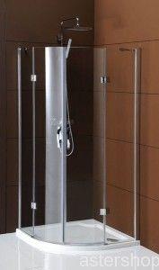 Firma Gelco kabina LEGRO kabina prysznicowa narożna półokrągła 90x90cm GL5590  2174 zł netto