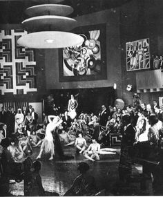 """Berlin nightlife, my word, the world hasn't seen anything like it! We use to have a first-class army; now we have first class perversions."" Klaus Mann, The Turning Point,1943  Photo of a Weimar party scene"