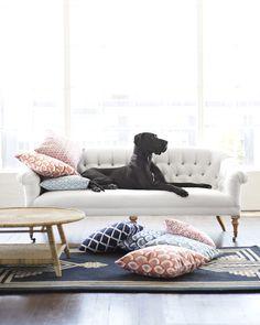 Paxton Tufted Sofa #serenaandlily