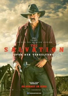 Cartel con Jeffrey Dean Morgan en  'The salvation', el western de Mads Mikkelsen