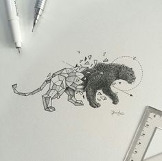 Geometric Beasts | Black Panther