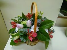 flori de april: COS CU FLORI DE PRIMAVARA