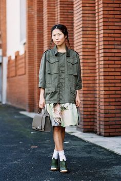 Paris Fashion Week AW 2014....Oxana