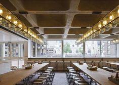 Restaurants Visit: Barbican Foodhall in London: Remodelista