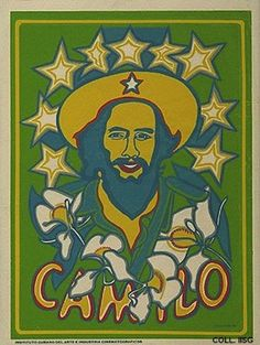 Camilo - 1969 - Raul Martínez - The poster was produced to commemorate the tenth anniversary of the death of Camilo Cienfuegos | 18 Cuban Propaganda Posters From The '60s And '70s